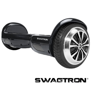 Swagtron Hoverboard Black